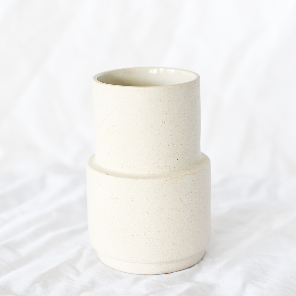 Ceramic vase by Danish ceramicist Lina Maria Lund from Nobel Design