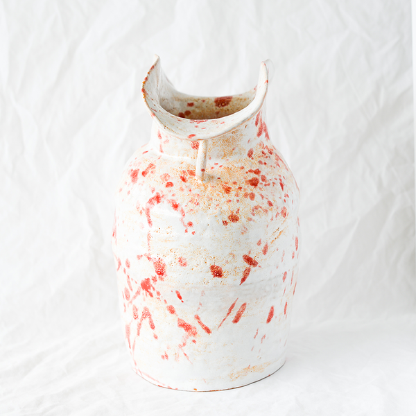 Ceramic Vase Handmade By Melbourne Ceramicist Nathan Collis