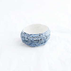 Porcelain vessel by Sydney ceramicist Alexandra Standen from Pinch Ceramics