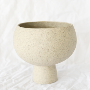 Ceramic Stone Grey Vessel by Melbourne ceramicist Simone Karras