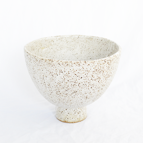 Ceramic White Vessel