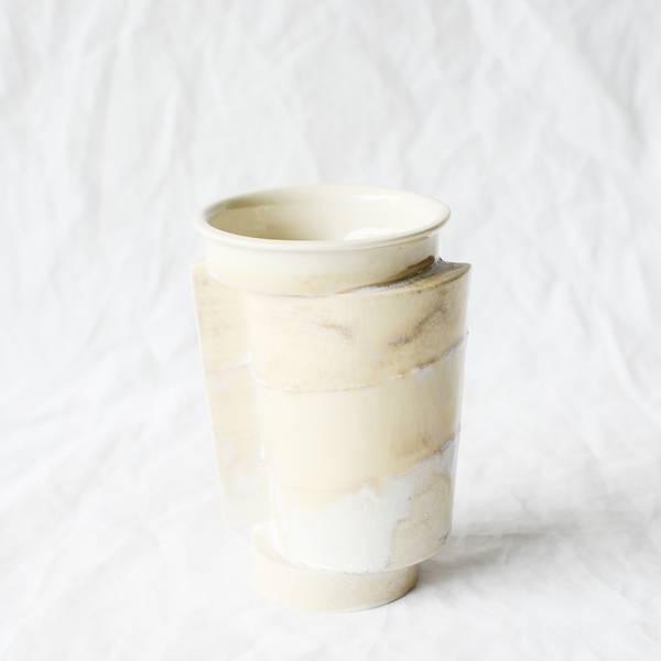 Ceramic vessel handmade by Perth ceramicist Studio Mulders