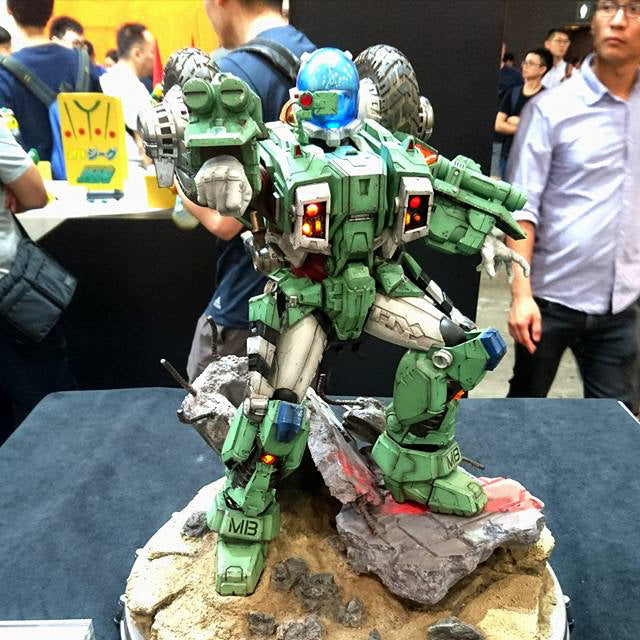 Robotech 1:6 Armor Cyclone VR025F at ACGHK2017