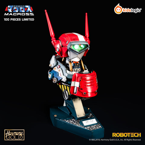 ST12 1/8 Robotech Valkyrie VF-1J Milia Ver, Mechanical Bust Statue