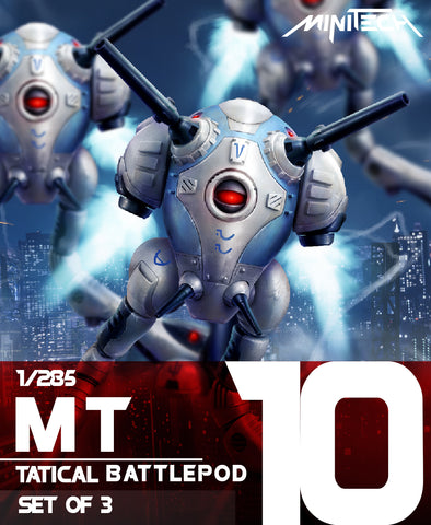 MT10 1/285 Robotech Macross Tactical Battlepod (Set of 3)