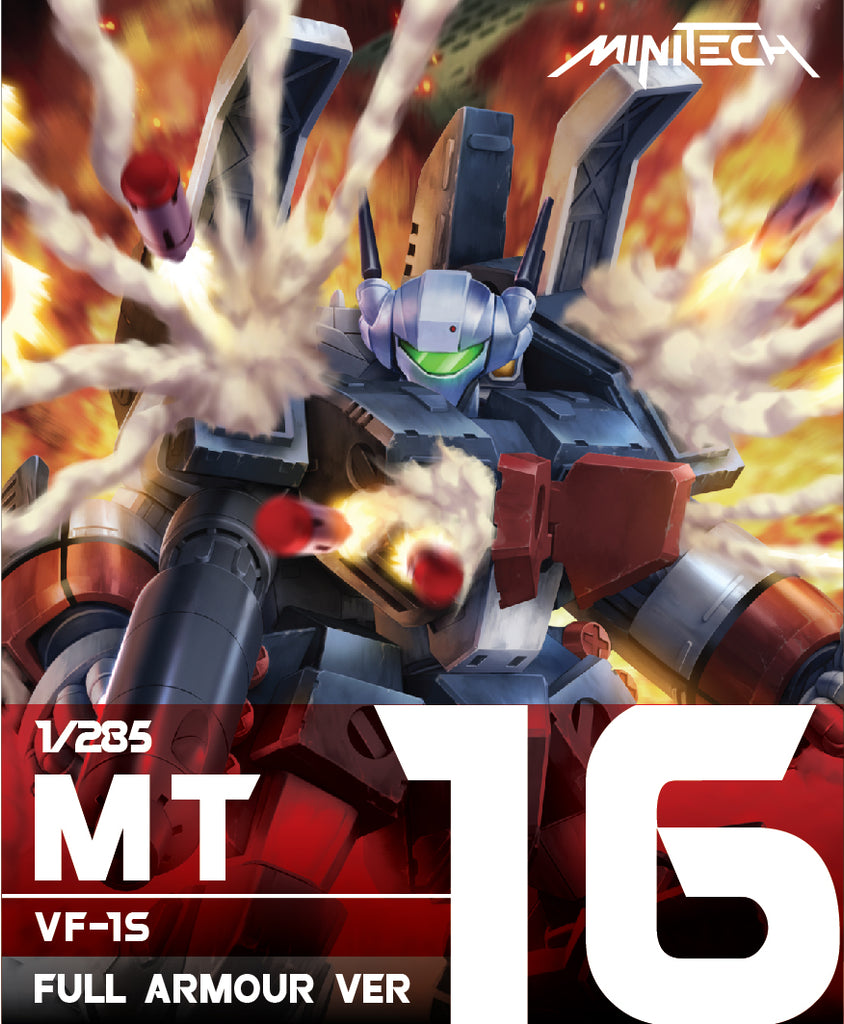 MT16 1/285 Veritech VF-1S Full Armoured Version