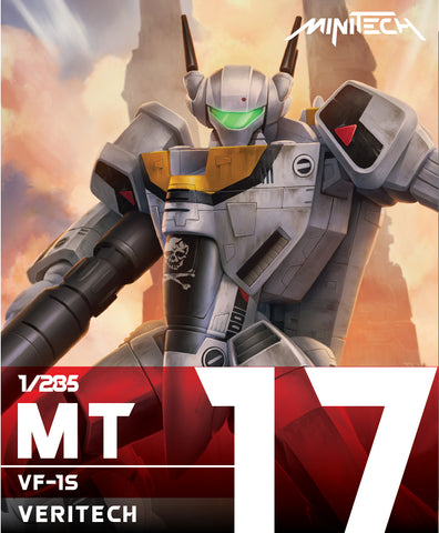 MT17 1/285 Veritech VF-1S (Skull Leader) (Est release date: 15 Apr 2020)