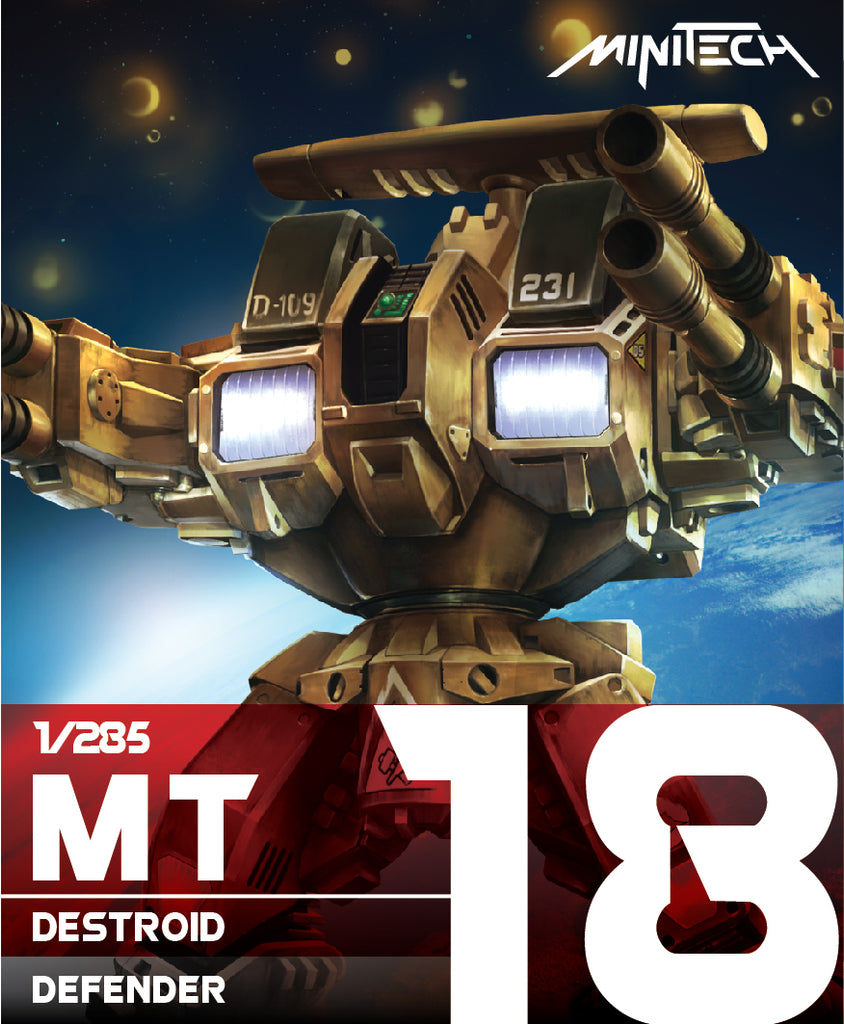 MT18 1/285 Destroid Defender