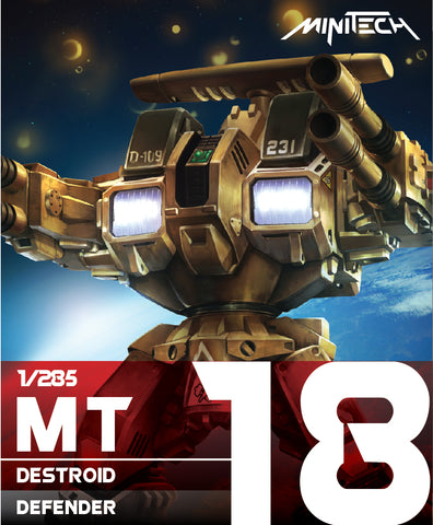 MT18 1/285 Destroid Defender (Est release date: 15 Apr 2020)