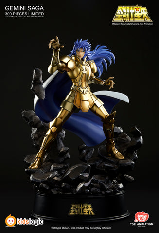 ST13 1/4 Gemini Saga Statue with Digital Sound System