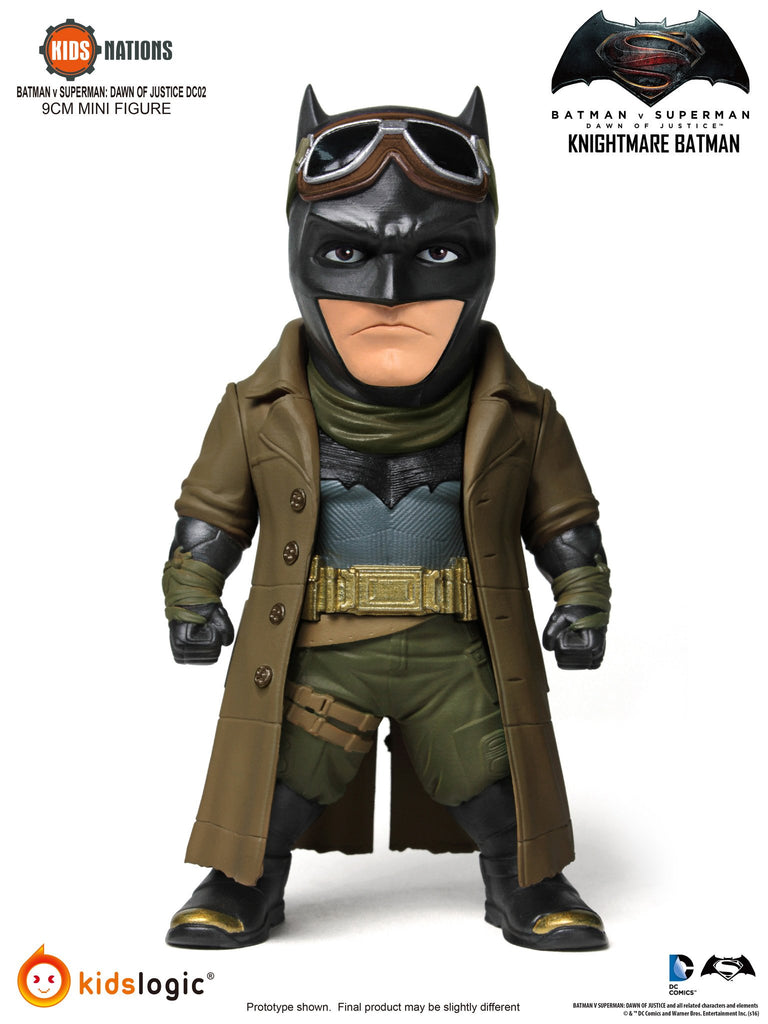 Kids Nations DC02, Wonder Woman, Domsday, Knightmare Batman, Batman V Superman: Dawn Of Justice, Set of 3
