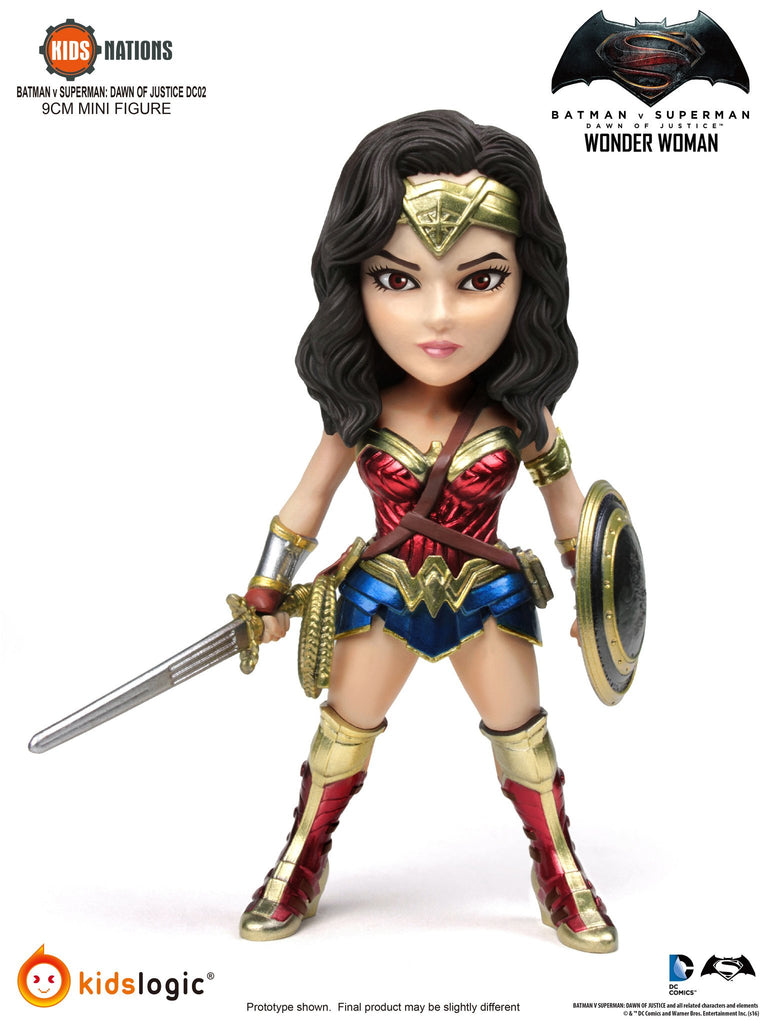 Kids Nations DC02 Wonder Woman Domsday Knightmare Batman V Superman