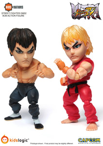 KN GM02, Ken & FeiLong, Street Fighter, Set of 2