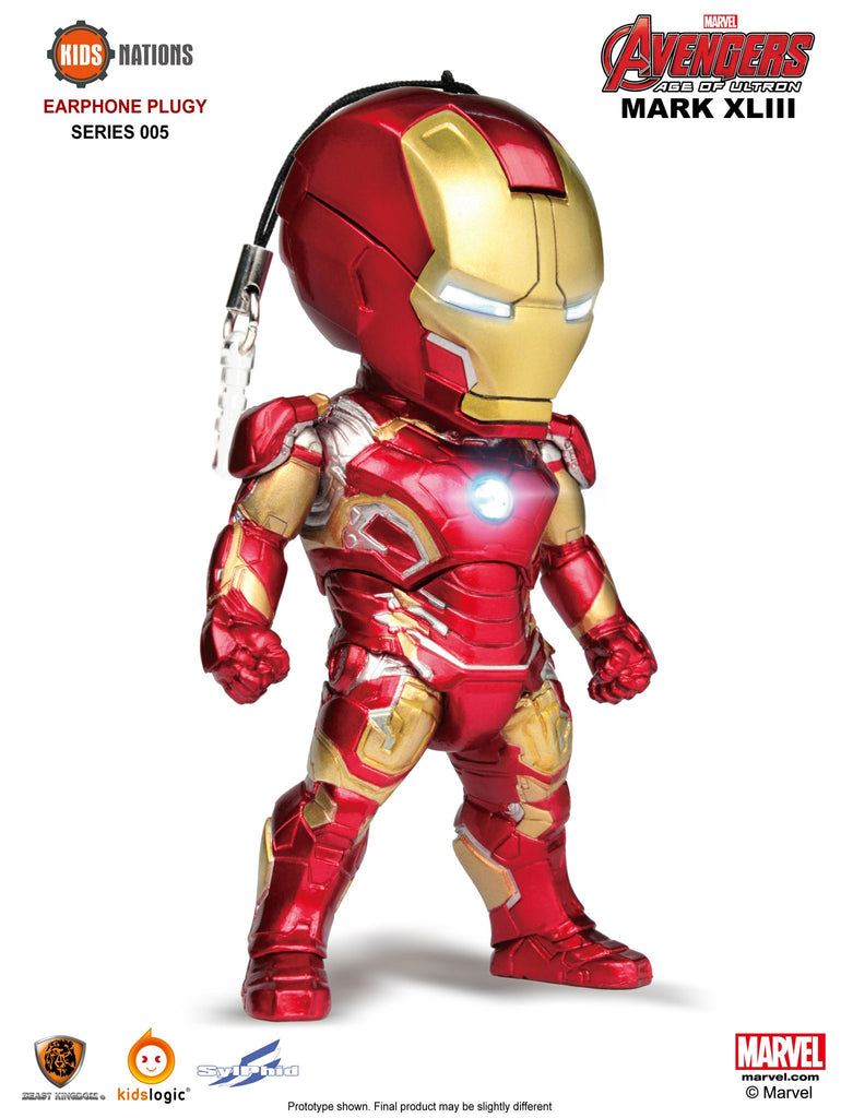 Iron Man Mk 43, Avengers Earphone Plug 05, Avengers: Age of Ultron