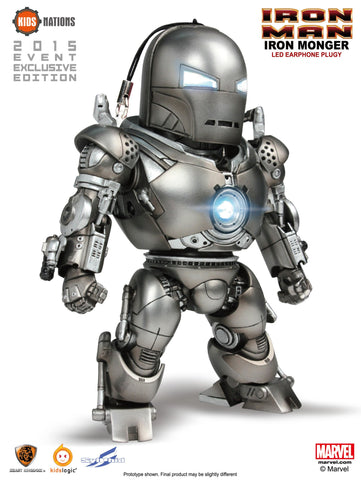 KN DX03, IRON MONGER - IRON MAN, LED EarPhone Plug