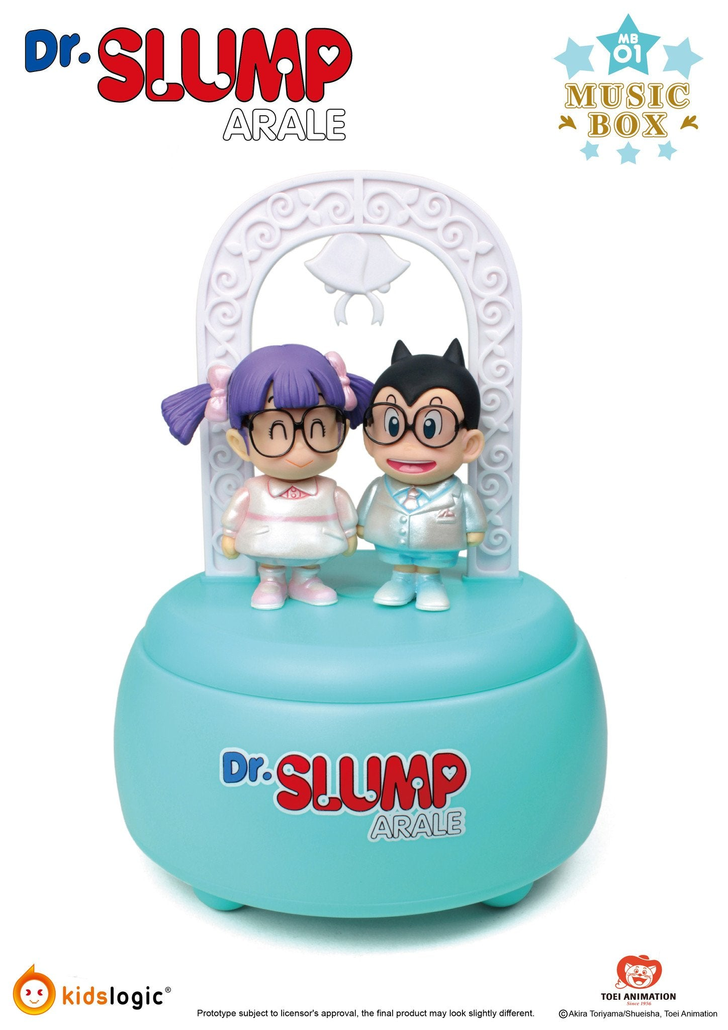 MB01, Arale Music Box Wedding Theme, Dr Slump Arale