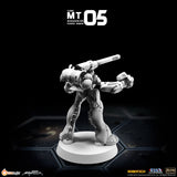 MT05 1/285 Robotech Macross Nousjaduel-Ger Power Armor