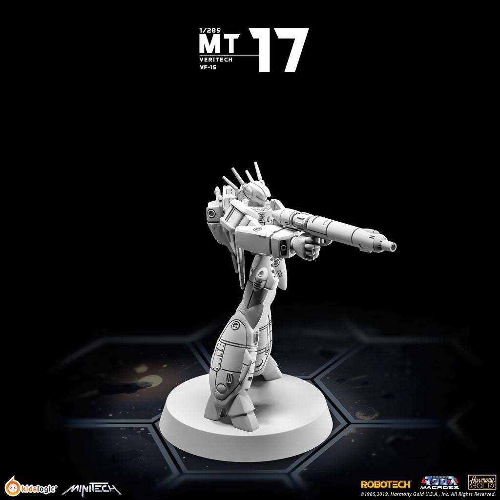 MT17 1/285 Veritech VF-1S (Skull Leader)