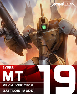 MT19 1/285 Robotech Macross Veritech VF1A Battloid Mode (Est release date 15 May 2020)
