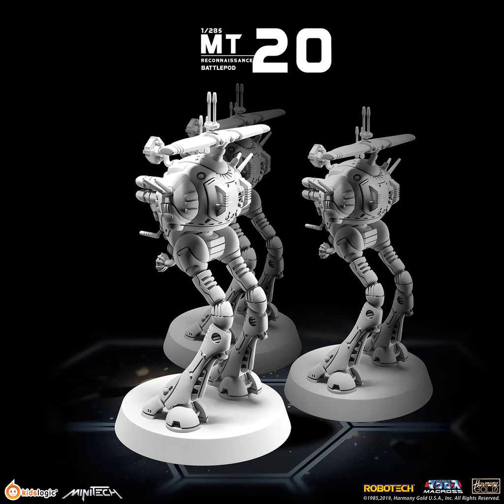 MT20 1/285 Robotech Macross Reconnaissance Battlepod (Set of 3)