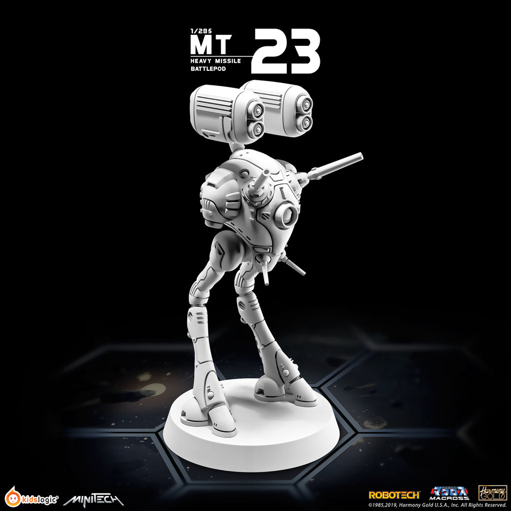MT23 1/285 Robotech Macross Heavy Missile Battlepod (Set of 3) (Release Date: Mid of Aug 2020)