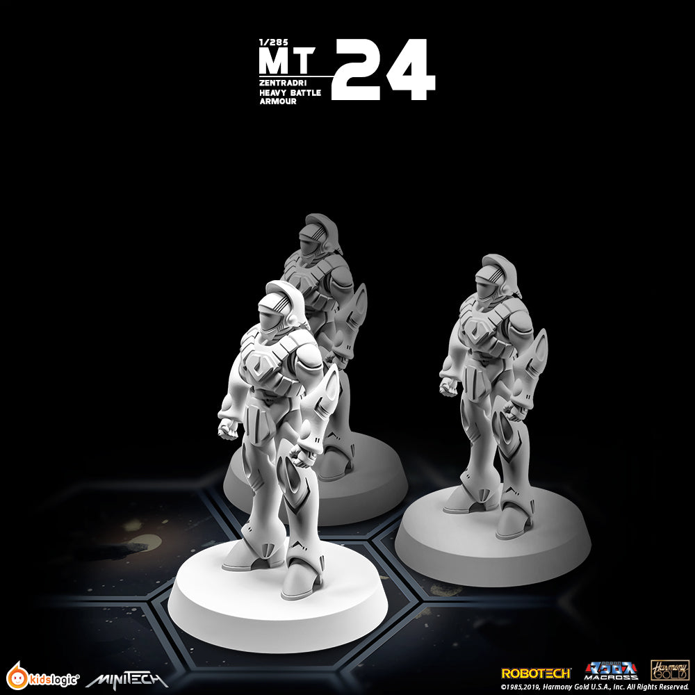 MT24 1/285 Robotech Macross Zentraedi Heavy Battle Armor (Set of 3) (Release Date: End of Aug 2020)