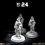 MT24 1/285 Robotech Macross Zentraedi Heavy Battle Armor (Set of 3)