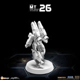 MT26 1/285 Robotech Macross Super Veritech VF-1A Battloid Mode