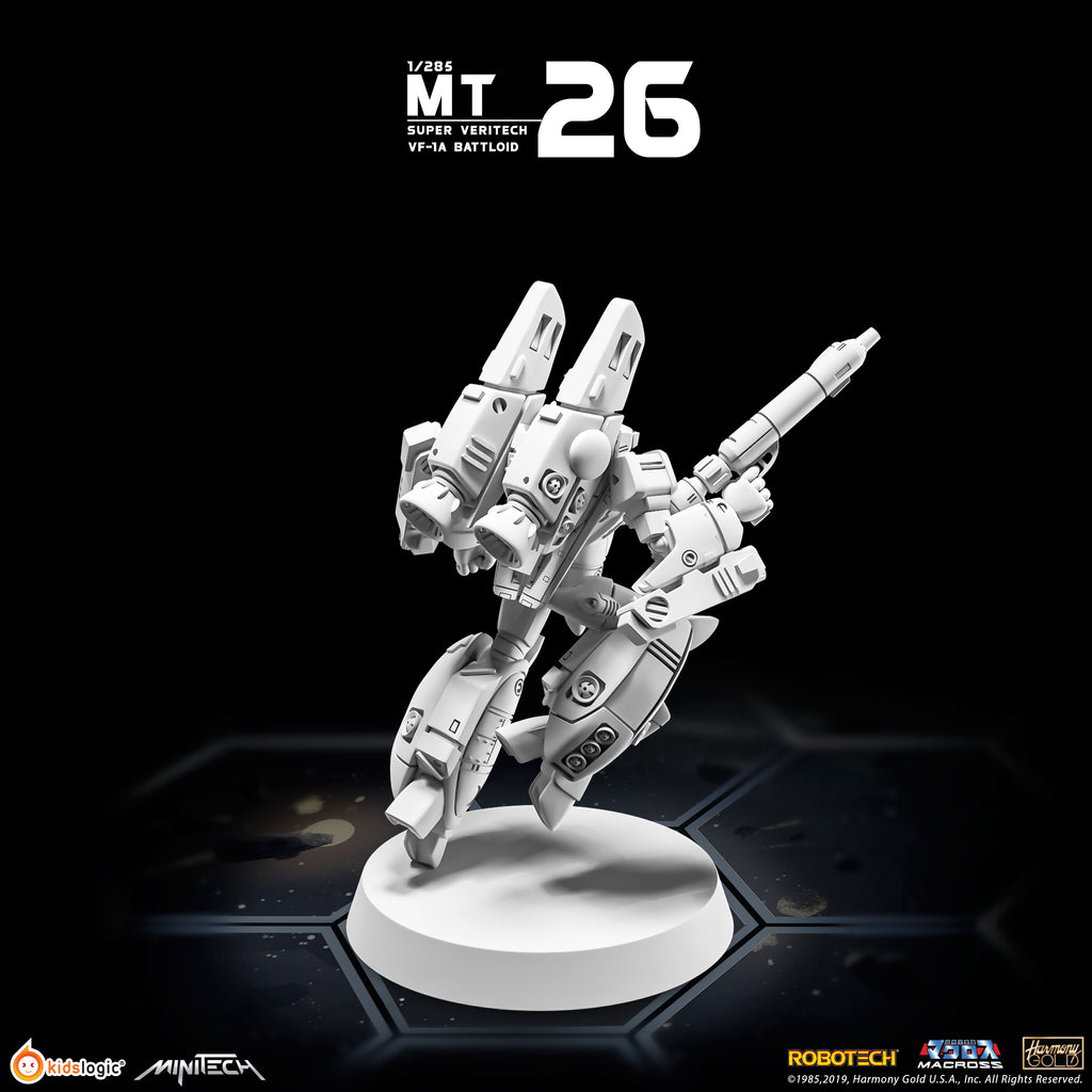 MT26 1/285 Robotech Macross Super Veritech VF-1A Battloid Mode (Estimated Release Date: 15 August 2020)