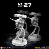 MT27 1/285 Robotech Macross Light Artillery Battlepod (Set of 3) (Estimated Release Date: 15 September 2020)
