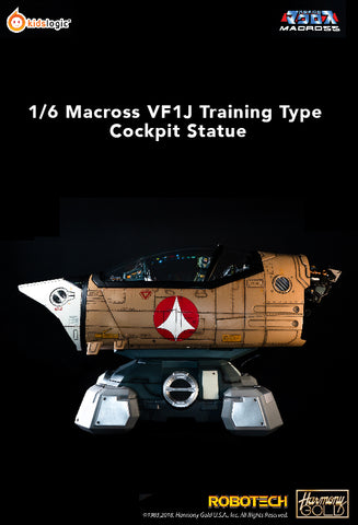ST14 1/6 Robotech Macross VF1J Training Type Cockpit Statue (Price: USD1090; Deposit: USD600)
