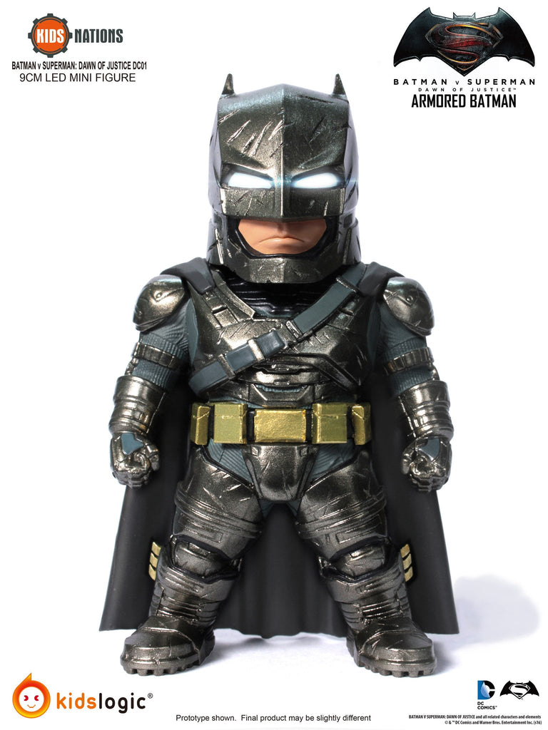 Kids Nations DC01, Batman, Superman, Armored Batman, Set of 3, Batman V Superman