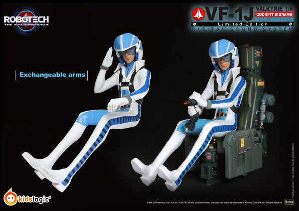 ST04 1:6 Robotech VF1J (Max Version)  Diorama Digital Sound System (Price:USD1380, Deposit:USD380)