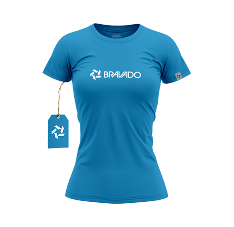 Bravado Essential Female Blue Tee