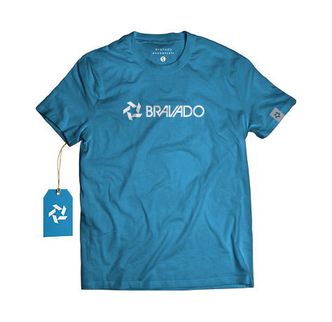 Bravado Essential Male Blue Tee