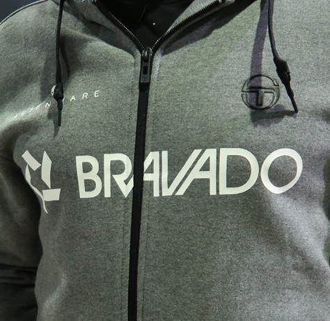 Bravado Lamar Zip-Up Sweater Grey