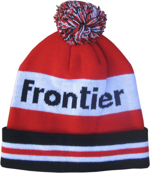 Warm knitted winter hat Frontier