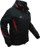 Warm padded jacket. Designed for ice practice coaches and for eveyday use for players.