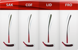 Composite stick F8.0 Grip