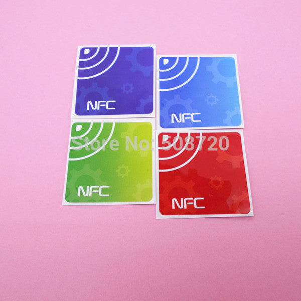 4Pcs NFC Tag Stickers Ntag203 13 56Mhz RFID Tag for Samsung Galaxy S5 Note3  S4 Nokia Nexus4/10 Oppo HTC Sony LG