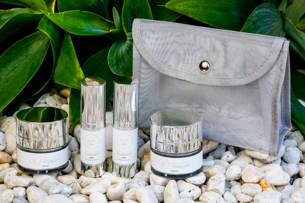how to pack skincare for travel