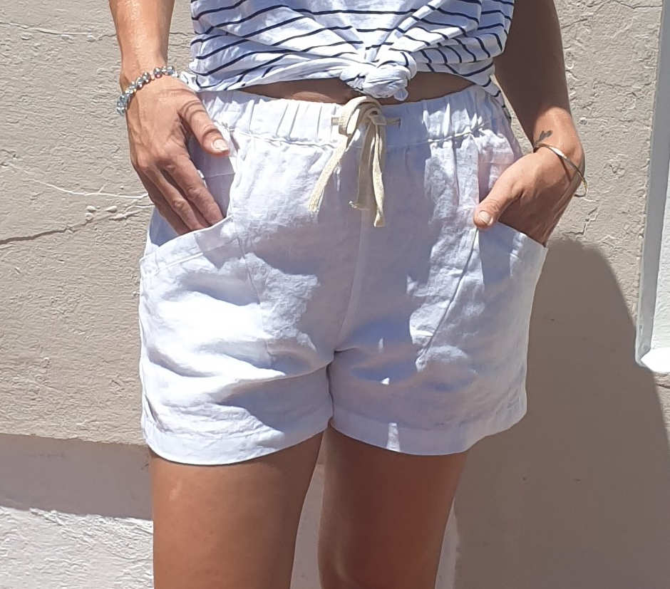 Little lies luxe shorts in White