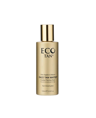 Face tan water