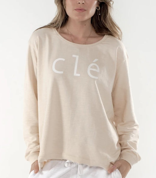 Cle logo sweater in Luxor