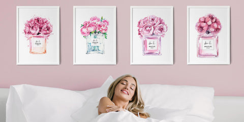 The Perfume Bottle Wall Art Collection
