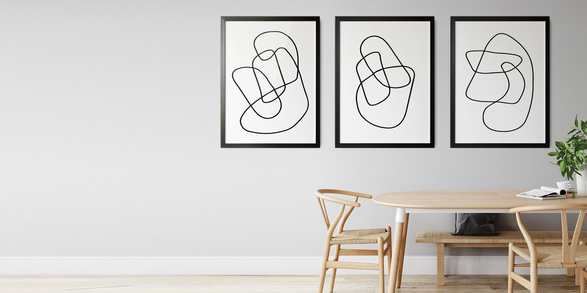 The Abstract Line Wall Art Collection
