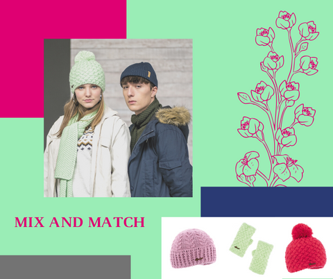 Mix and Match Herman Headwear