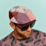 Casquette plate patchwork Andaman Herman Headwear