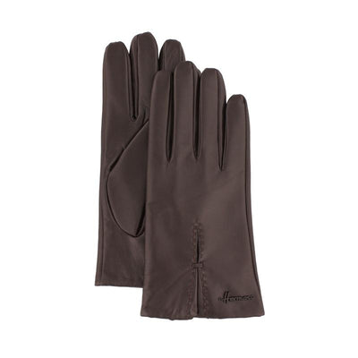 woman leather glove