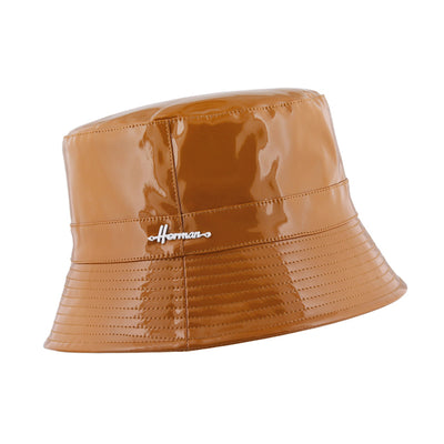 Raincoat waterproof ocher Don gloss Herman